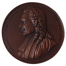 French Copper Medal Academie Francaise 1905