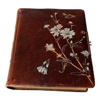Victorian Leather Bound Photograph Album