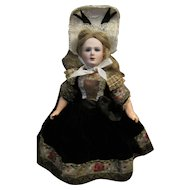 """11"""" Jumeau Great Lady MIB and dressed in Provincial Costume"""
