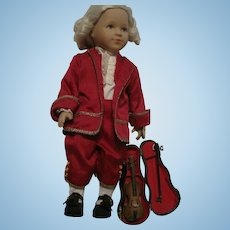 "15"" Kathe Kruse Mozart #69/100 MIB"