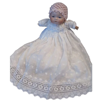 "15"" A.M. Dream Baby in Antique Long Dress"