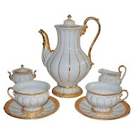 Meissen Coffee Set for 12  Tea Service