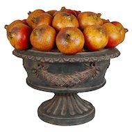 Fruits Arrangement Centerpiece Vase Bowl Pomegranates