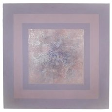 Vera Simons Mixed Media Painting on Canvas, Early Light