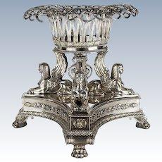 Paul  Storr Silver Centerpiece ca 1820