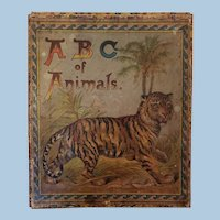 Very Old Animal and Alphabet Blocks in Original Box