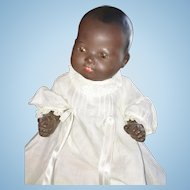 Armand Marseille Rare Black Baby Doll