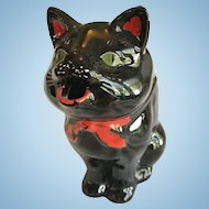 Halloween Black Cat Creamer or Pitcher