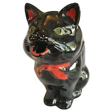 Halloween Black Cat Creamer or Pitcher