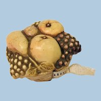 Fruit Basket Vintage Tape Measure