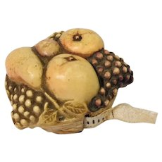 Fruit Basket Vintage Tape Measure