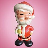 Vintage Santa Claus Bobblehead Figurine