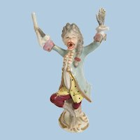 Volkstedt Porcelain Monkey Orchestra Conductor