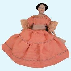Miniature Doll House Size China Head Doll