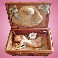 Original Baby Doll Nursery Set in Basket