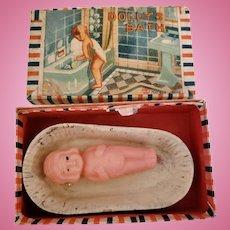 Tiny Toy Dolly's Bath