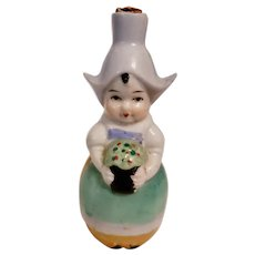 Tiny Dutch Girl Perfume Bottle