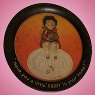 Fairy Soap Advertising Tin Tip Tray