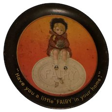 Fairy Soap Advertising Tin Tip Tray