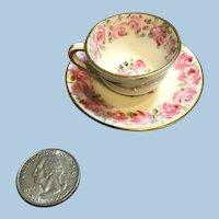 Miniature Foley English China Cup & Saucer