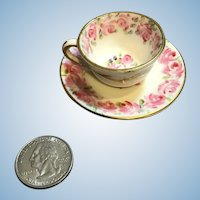 Miniature Foley English China Cup & Saucer