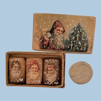 German Miniature Santa Gingerbreads
