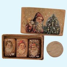 German Miniature Santa Gingerbreads