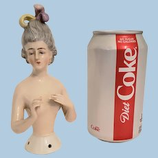 Large size Goebel Half Doll Pincushion