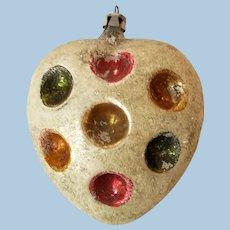 Unique Heart Indent Christmas Ornament