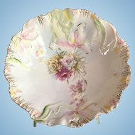 R.S. Prussia Lady Hidden Image Large Bowl
