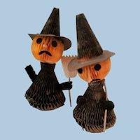 Honeycomb Halloween Witches