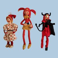 Two Jesters and Devil