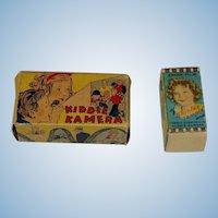 Vintage Kiddie Kamera and Extra Film