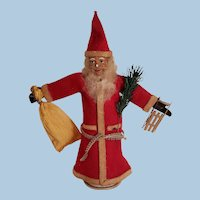 Fantastic German Santa Claus Candy Container