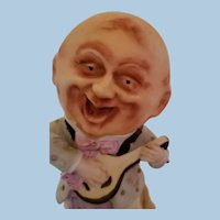 Man in the Moon Bisque Figurine