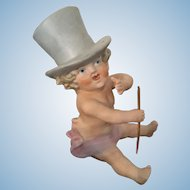 Adorable Unusual Pian Baby Boy in Top Hat