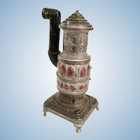 Pot Belly Doll House Miniature Stove