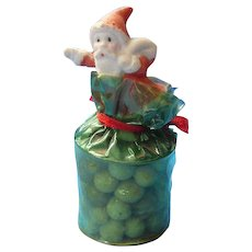 Original Santa Claus Candy Container