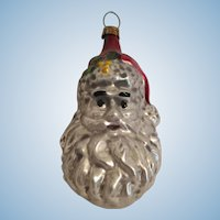 Vintage Santa Claus Christmas Tree Ornament