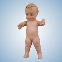 Scottles Miniature All Bisque Doll
