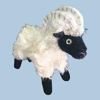 Steiff Mountain Sheep Snucki Stuffed Toy