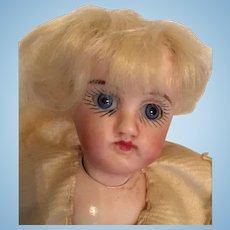 Sweet Little German All Bisque Swivel Neck Mignonette Doll
