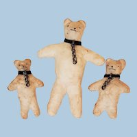 Teddy Bear Christmas Decor Family