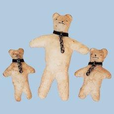 Teddy Bear Christmas Decor Family