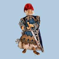 Wise Man Wax Creche Nativity Figure