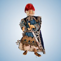Wise Man Wax Creche Nativity Figure
