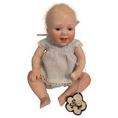 Unique Artist Made Bisque Baby Doll