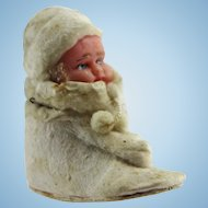 Wax Doll Christmas Shoe Candy Container