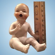 All Bisque Naked Baby Bathtub Doll