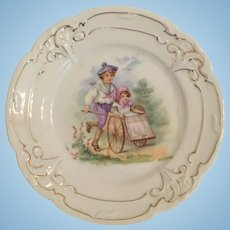 Antique Child's Plate